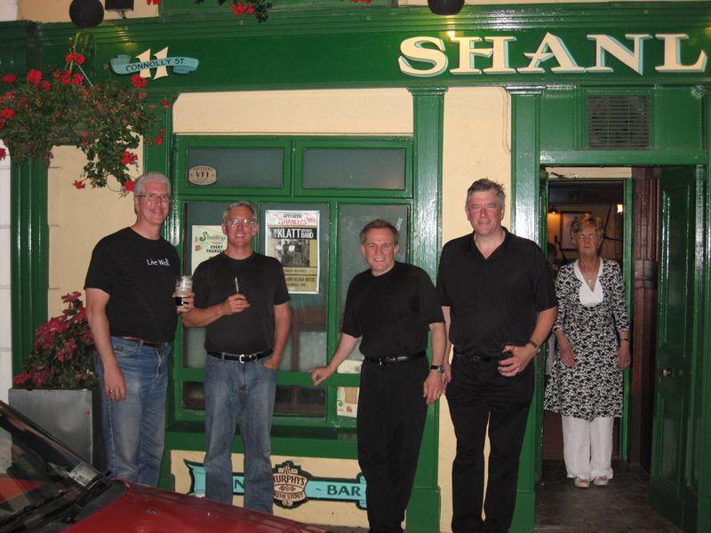 Klatt Bros at Shanley's Piano Bar 8.12.09